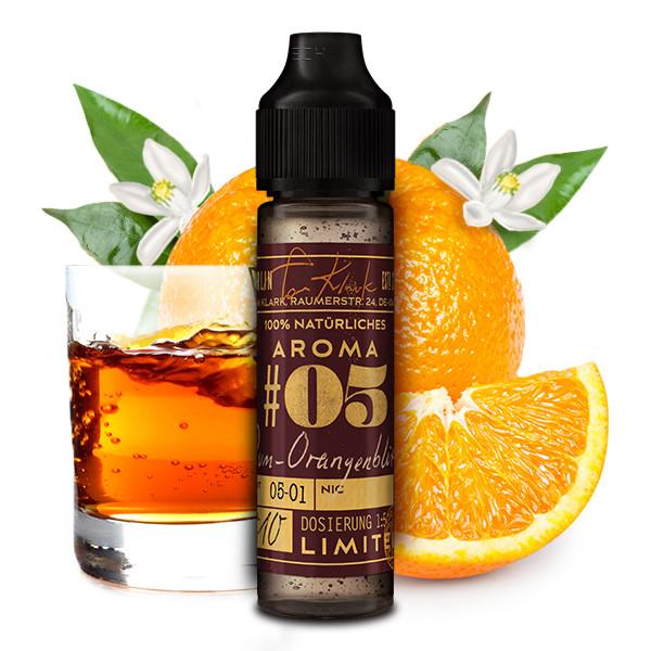 Tom Klark's - 100% natürliche Aromen - #05 Rum-Orangenblüte