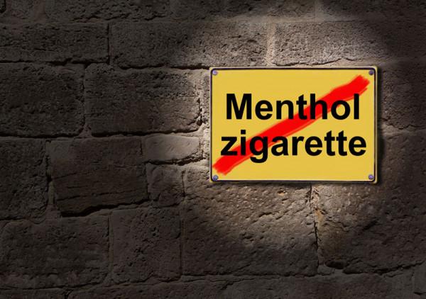 Menthol Verbot