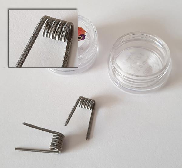 Alien coils 3-27G 36G Ni80 5 Wraps 3mm 0,15 Ohm